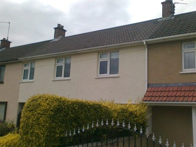 After biocide cleaning & moss removal by Roof Repairs Belfast, Belfast, NI