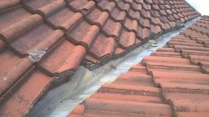 Before Roof Repair on a Belfast House - All Roof Services from Roof Repairs Belfast, Northern Ireland